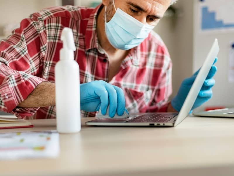 Office germs Commercial cleaning company Cambridge