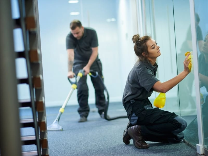 Commercial Property Regular Cleaning