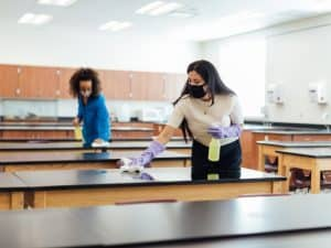 School Cleaning Service Cambridge