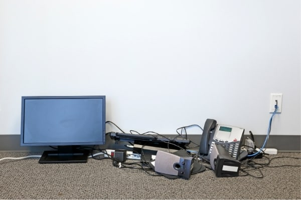 Spotless commercial IT equipment clearance Cambridge