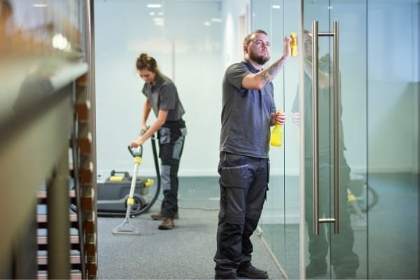 Spotless commercial Cambridge daily office cleaning