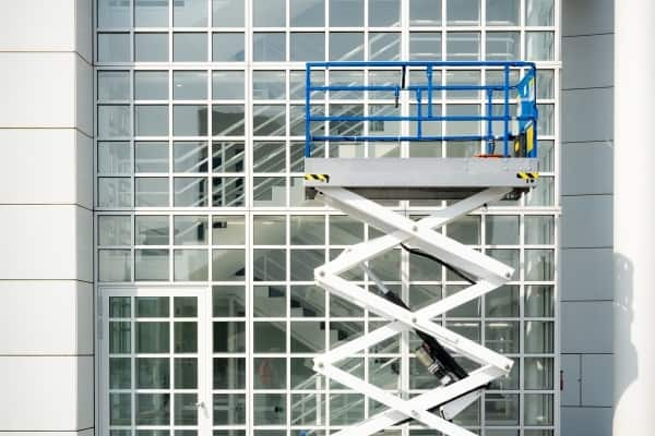 Mobile Elevated Platform Window Cleaning Service Cambridge Spotless Commercial