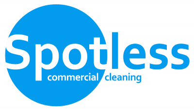 Spotless commercial cleaning Cambridge logo