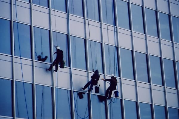 Suspended Access Window Cleaning Service Cambridge Spotless Commercial