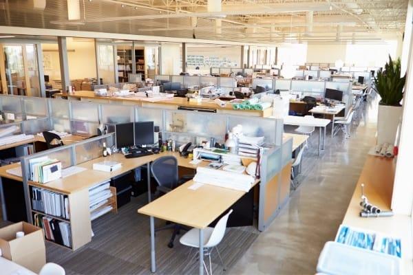 Deep cleaning empty office Cambridge
