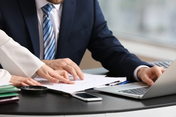 Accountant business office cleaning service Cambridge